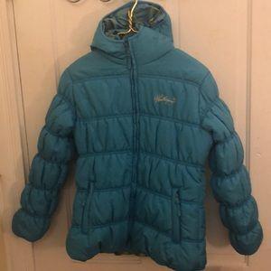 Weatherproof blue girls puffer jacket 14/16